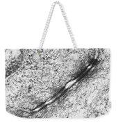 Tem Of Desmosomes Between Epithelial Weekender Tote Bag