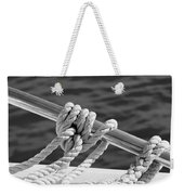 The Ropes Weekender Tote Bag by Laura Fasulo