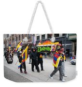 Tibetan Protest March Weekender Tote Bag