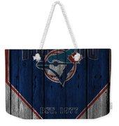Toronto Blue Jays Weekender Tote Bag