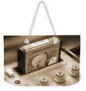 8-track Tape Player Weekender Tote Bag