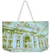 Trevi Fountain Landscape Weekender Tote Bag
