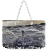 View Of Wallace Monument From The Heights Of The Stirling Castle Weekender Tote Bag