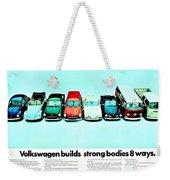 8 Ways Weekender Tote Bag