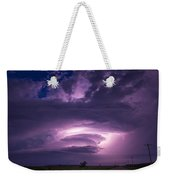 Wicked Good Nebraska Supercell Weekender Tote Bag