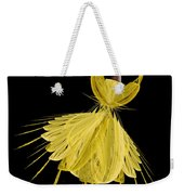 8 Yellow Ballerina Weekender Tote Bag