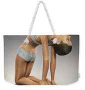 Yoga Camel Pose Weekender Tote Bag