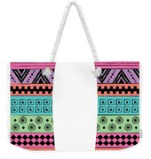 80s Fish Surfboard Weekender Tote Bag