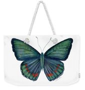 82 Bellona Butterfly Weekender Tote Bag by Amy Kirkpatrick