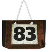 #83 Weekender Tote Bag