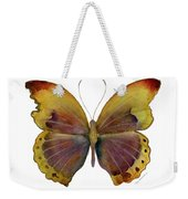 84 Gold-banded Glider Butterfly Weekender Tote Bag by Amy Kirkpatrick