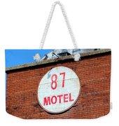 87 Motel Weekender Tote Bag