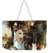 Italian Greyhound Art Canvas Print  Weekender Tote Bag