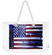 9-11 Flag Weekender Tote Bag