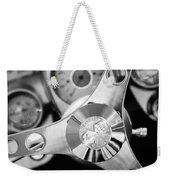 1960 Chevrolet Corvette Steering Wheel Emblem Weekender Tote Bag by Jill Reger