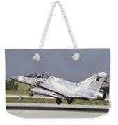 A Qatar Emiri Air Force Mirage Weekender Tote Bag