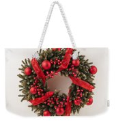Advent Christmas Wreath  Weekender Tote Bag