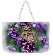 American Painted Lady Butterfly Weekender Tote Bag