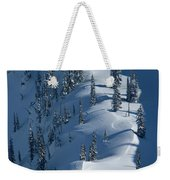 Backcountry Ski Traverse In Glacier Weekender Tote Bag