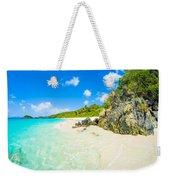 Beautiful Caribbean Beach Weekender Tote Bag