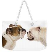 Bulldog Anglais Weekender Tote Bag