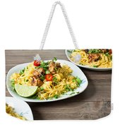 Chicken Noodles Weekender Tote Bag