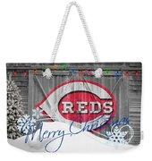 Cincinnati Reds Weekender Tote Bag