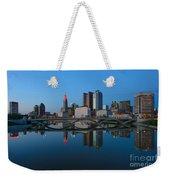 Fx2l-508 Columbus Ohio Skyline Photo Weekender Tote Bag