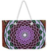 Cosmic Flower Mandala 6 Weekender Tote Bag