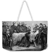 Death Of Lincoln, 1865 Weekender Tote Bag