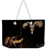 Eastern Screech Owl Weekender Tote Bag