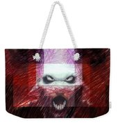 Halloween Mask Weekender Tote Bag