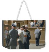 9. Jesus Before The Magistrate / From The Passion Of Christ - A Gay Vision Weekender Tote Bag