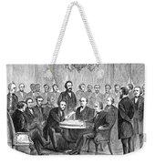 Johnson Impeachment, 1868 Weekender Tote Bag