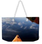 Lake In Autumn Weekender Tote Bag