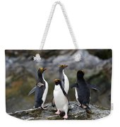 Macaroni Penguin Weekender Tote Bag