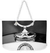 Mercedes-benz Hood Ornament Weekender Tote Bag