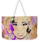 Nicki Minaj Diamond Earring Collection Weekender Tote Bag