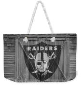 Oakland Raiders Weekender Tote Bag by Joe Hamilton