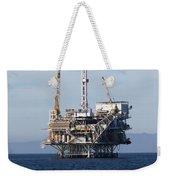 Oil Rig Weekender Tote Bag