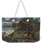 Paul Reveres Ride Weekender Tote Bag