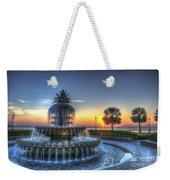 Pineapple Glowing Weekender Tote Bag