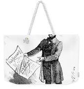 Prince Otto Von Bismarck  Weekender Tote Bag