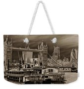 River Thames Art Weekender Tote Bag