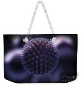 Swine Influenza Virus H1n1 Weekender Tote Bag