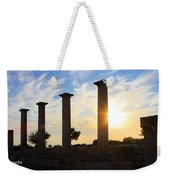 Temple Of Apollo Hylates Weekender Tote Bag