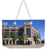 Texas Rangers Ballpark In Arlington Weekender Tote Bag