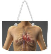 The Cardiovascular System Female Weekender Tote Bag