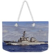 The Guided-missile Destroyer Uss Weekender Tote Bag