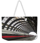 Train Station Weekender Tote Bag